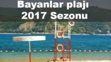 Bayanlar plajı 2017 Sezonu